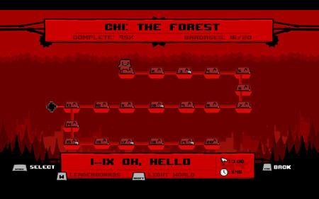 Super Meat Boy Forest Hard Mode